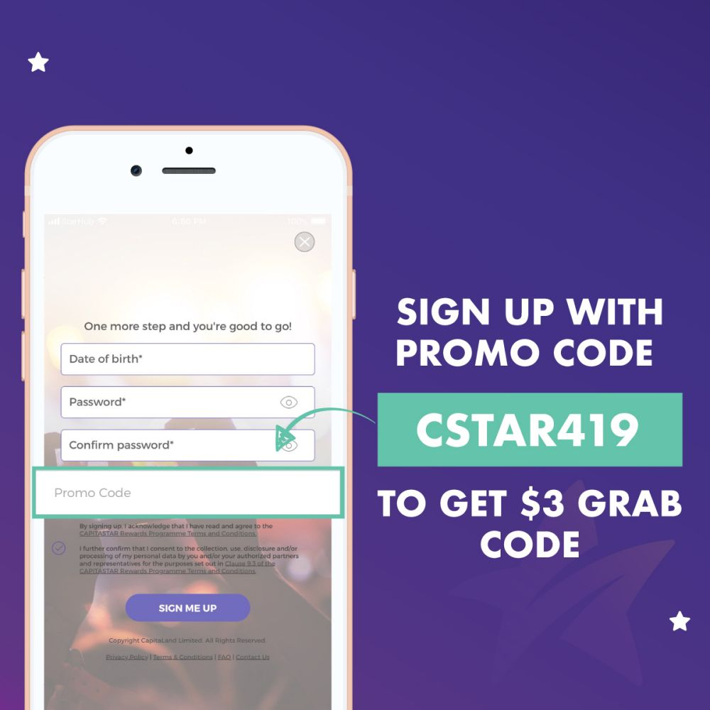 Win a month's worth of free Grab rides | CapitaStar