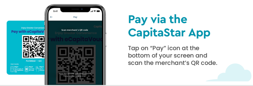 Pay with STAR$ with the CapitaStar App